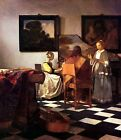 Vermeer THE CONCERT STOLEN!!! - Stretched Giclee Canvas