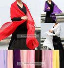 "Long Chiffon Scarf/Shawl ~15 colors 30""x68""/75cmx172cm"