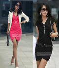 High Quality Elegant Short Sleeve Dress XS~L #GF203