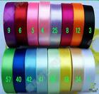 "5/8"" 16mm 3 Yards Satin RIBBON 16 Color Options Single Face High Quality U pick"