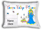 Girls Personalized Tooth Fairy Pillow - With Pocket