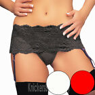Deep Suspender Belt Thong and Stockings Size 8, 10, 12, 14, 16, 18 NEW