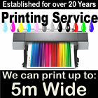 Digital Poster Print Printing A0 A1 A2 A3 UP to 5m WIDE
