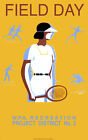 Vintage Tennis POSTER.Stylish Graphics.Field Day.Room Wall art Decor297i