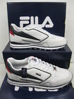 "FILA Gents Trainers Wht/Navy/Red ""BLAZE LACE"""