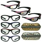 Womens Transition Motorcycle Riding Sunglasses Photochromic Day Night Glasses