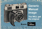 1958 Retinette I Instruction Manual, More Kodak Camera User Guide Books Listed