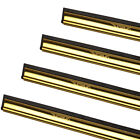 Professional Brass Channel & Rubber for Window Cleaning Squeegees from Ettore