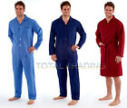 Mens Plain Poly Cotton Pyjamas  Sizes S , M  L  XL XXL  new o 3xl 4xl 5xl