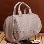 4Color Celebrity Studded Bottom Duffel Leather Tote Boston bag shoulder bag