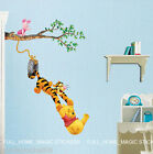 WINNIE THE POOH& Friends Swing Wall stickers Kids Room Nursery Decor