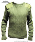 WOOL COMMANDO PULLOVER BRITISH ARMY - NEW