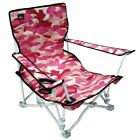 Armrest Sand Seats - Folding Beach Chairs - Low Seating with Carry Bags