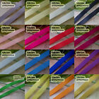 100Yds/Roll Polyester Ribbons Sewing Scrapbooking Craft 6mm,10mm,15mm