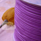 "3mm 1/8"" Purple Velvet Ribbons Craft Sewing Trimming Scrapbooking #79"