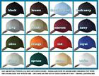 12 New FLEXFIT 6277 Structured Baseball Hat FITTED Sports Caps Black S/M L/XL