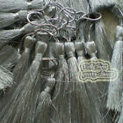 Silver# 12cm Tassels Craft Sewing Curtains Trimming Embellishment T21