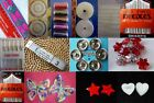 DRESS MAKING KIT MACHINE & HAND SEWING NEEDLES EMBROIDERED LACE BUTTONS various