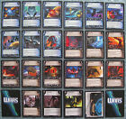 WARS TCG Nowhere To Hide Rare Cards Part 1/2 (CCG)