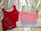 Girls Fila Sport Sleeveless Top Half Lined Tops Sizes M 10/12, L 14, XL 16