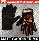 KIDS STERN MOTOCROSS MX CYCLE BIKE GLOVES ORANGE SIZES XS S M L XL quad bmx