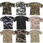 TEE-SHIRT MILITAIRE ARMEE CAMOUFLAGE PAINTBALL COMBAT AIRSOFT OUTDOOR FASION