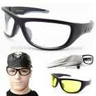 Motorcycle Safety Glasses Goggles Protective Z87 hunting shooting Night Riding