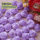 Lilac 15mm Polyester Rose Trimming Sewing Scrapbooking Appliques HB15-430