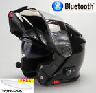 VIPER RS-V131 BLUETOOTH BLINC FLIP FRONT MOTORBIKE MOTORCYCLE HELMET  - TESTED