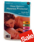New Fitted Water Resistant Mattress Protector, Single Double King Bed Sheet