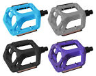 "BMX MOUNTAIN MTB FIXIE BIKE BICYCLE ALLOY PLATFORM PEDALS 9/16"" PAIR. RRP £16.99"