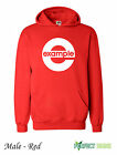 EXAMPLE COVER CD ALBUM MUSIC Hoodie S-2XL FREE P&P -  Red