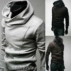 NEW Mens Slim Fit Sexy Top Designed Hoodies Jackets Coats E520 3Color 5Size