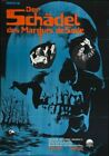 THE SKULL 03 VINTAGE CLASSIC B-MOVIE REPRODUCTION ART PRINT CANVAS A4 A3 A2 A1