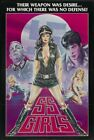SS GIRLS 01 VINTAGE CLASSIC B-MOVIE REPRODUCTION ART PRINT A4 A3 A2 A1
