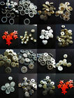 Vintage Style Dress Jacket Antique Silver gold Sew on Snap studs Buttons Various