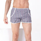 Stylish Men's Striped Underwear Boxer Shorts Home Trousers Lounge Loose Fit  NWT