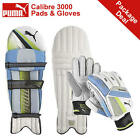 *NEW* PUMA CALIBRE 3000 CRICKET BATTING PADS AND GLOVES PACKAGE, RRP £75