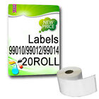 20 x 99010 99012 99014 NON-OEM White labels
