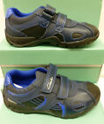"""Clarks Infant Boys Navy Trainer/Shoe """"FLASHBRITE INF""""  F&G - Fittings"""