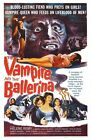 Vampire And Ballerina 01 B-MOVIE POSTER REPRODUCTION PRINT A4 A3 A2 A1