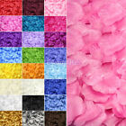 100pcs Silk Rose Petals Wedding Party Table Confetti Decorations