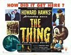 THING FROM ANOTHER WORLD 04 B-MOVIE REPRODUCTION ART PRINT A4 A3 A2 A1