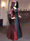Mediaeval Renaissance Sorceress Gown witch Medieval Fantasy Costume