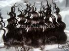 Full Lace Frontal Partial Wig Remi Remy Indian Human Hair Dark Brown Custom Made