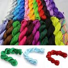 27m Chinese Knot Premium Nylon Macrame Cords Rattail For Braided Bracelet 1mm