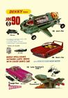 DINKY TOYS JOE 90 THUNDERBIRDS VEHICLES AD A3 or A2 REPRINT