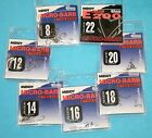 Middy Micro-Barb Hooks Eyed E200 7 sizes (10 per pack) Qty 1