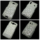 Bling Crystal & Pearl Diamond Rhinestone Snap-On Back Hard Case Cover Skin New