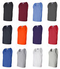 GILDAN Mens NEW Size S-XL 2XL Ultra Cotton Tank Top Muscle Sports T-Shirt g2200 image